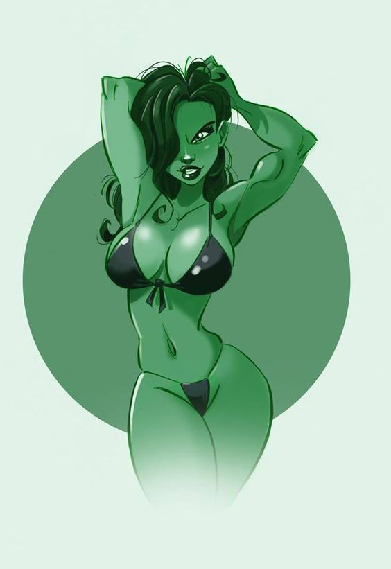 She hulk by Pedro Perez