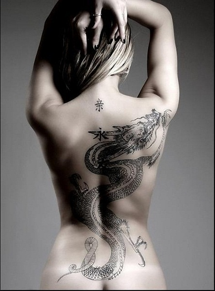 Dragon tattoo designs for girls