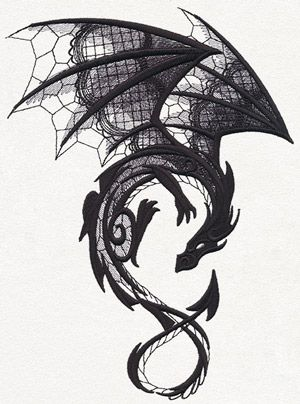 Dragon tattoo symbols