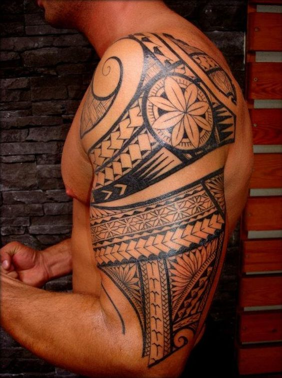 Maori Polynesian Tattoos by Thierry