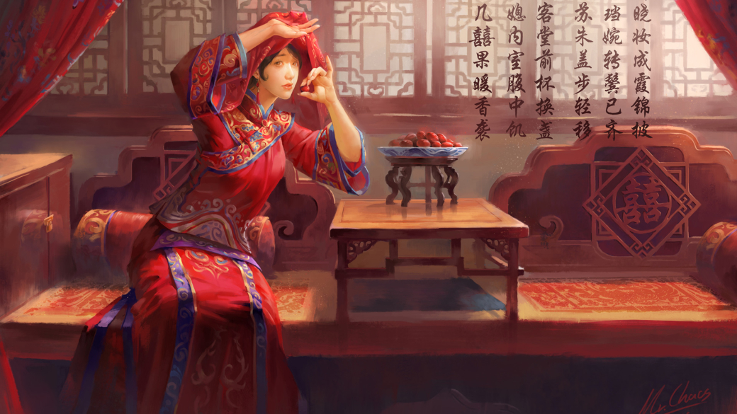 Illustrations by concept artist Wenfei Ye