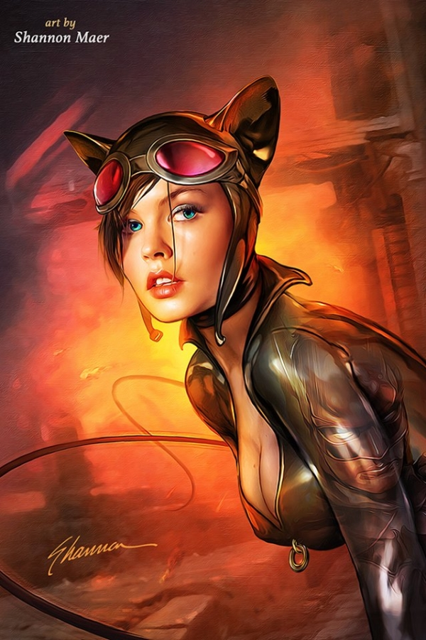 Catwoman-by-Shannon-Maer
