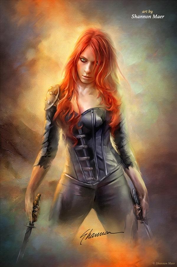 Warrior-female-by-Shannon-Maer