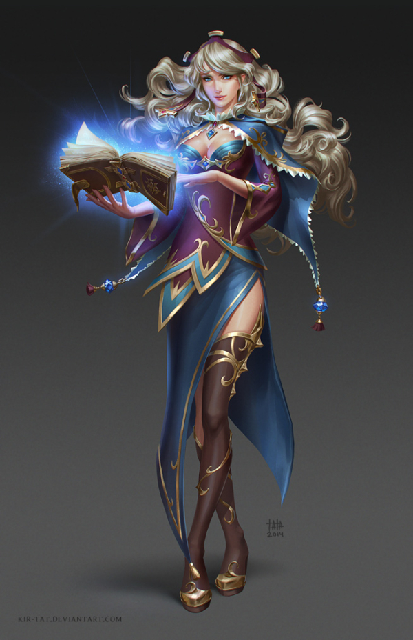 sorceress_by_kir_tat