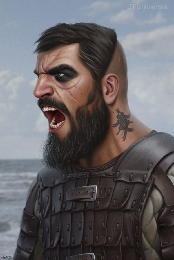 Dane warrior by JFoliveras