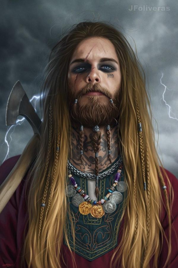 Harald Fairhair by JFoliveras