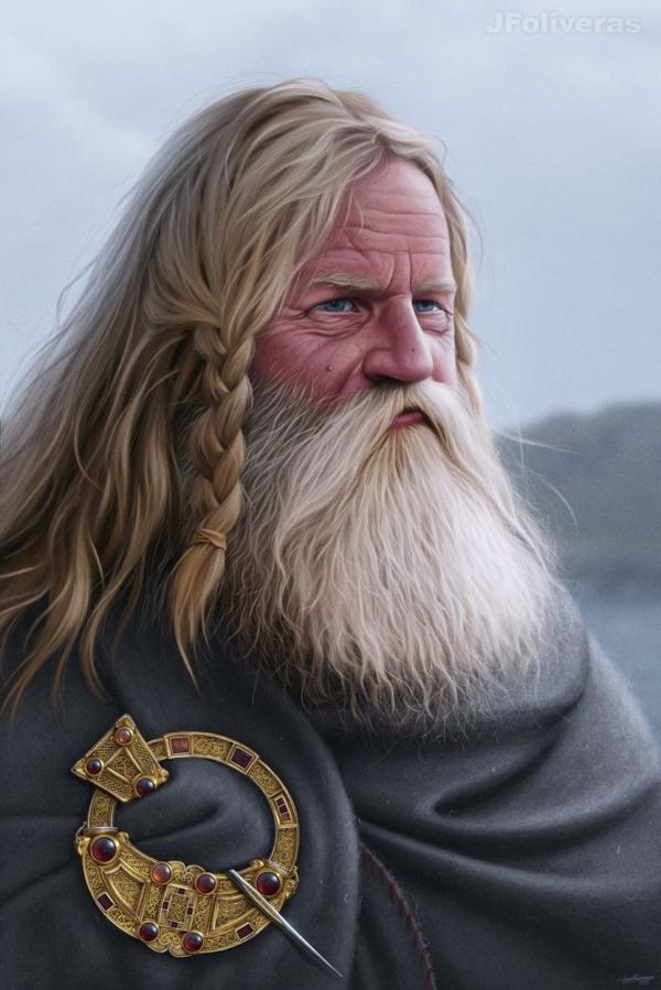 Norse-Gael jarl by JFoliveras
