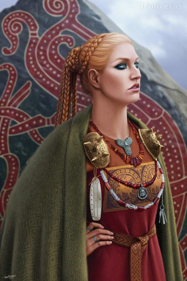 Queen Gunnhild by JFoliveras