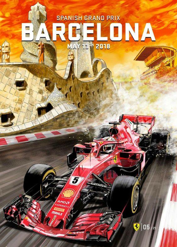 2018 Spanish Grand Prix in Barcelona