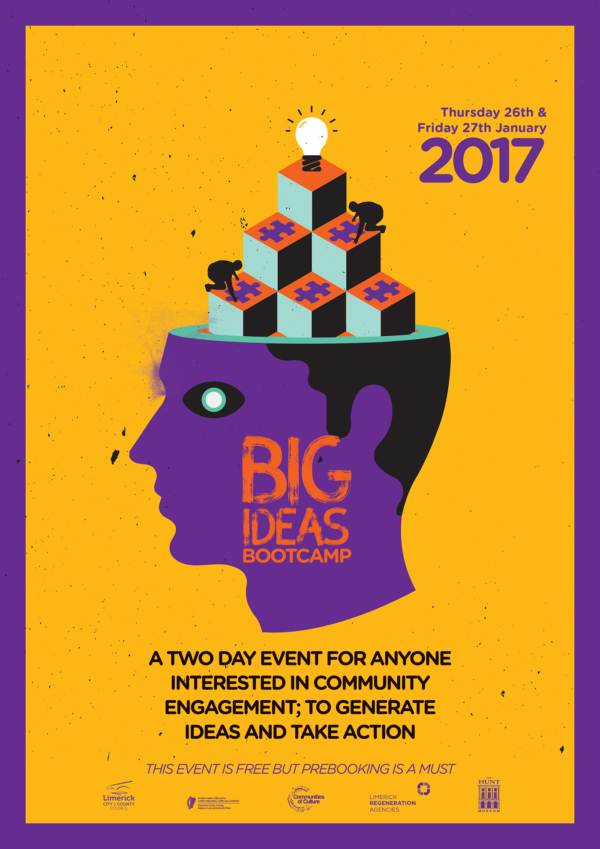 Big Ideas Bootcamp Poster by Liam Madden