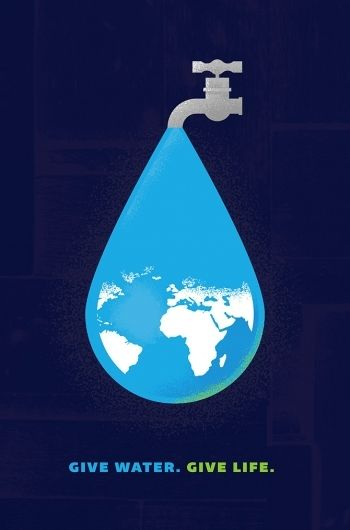 Poster - Give Water - Give Life