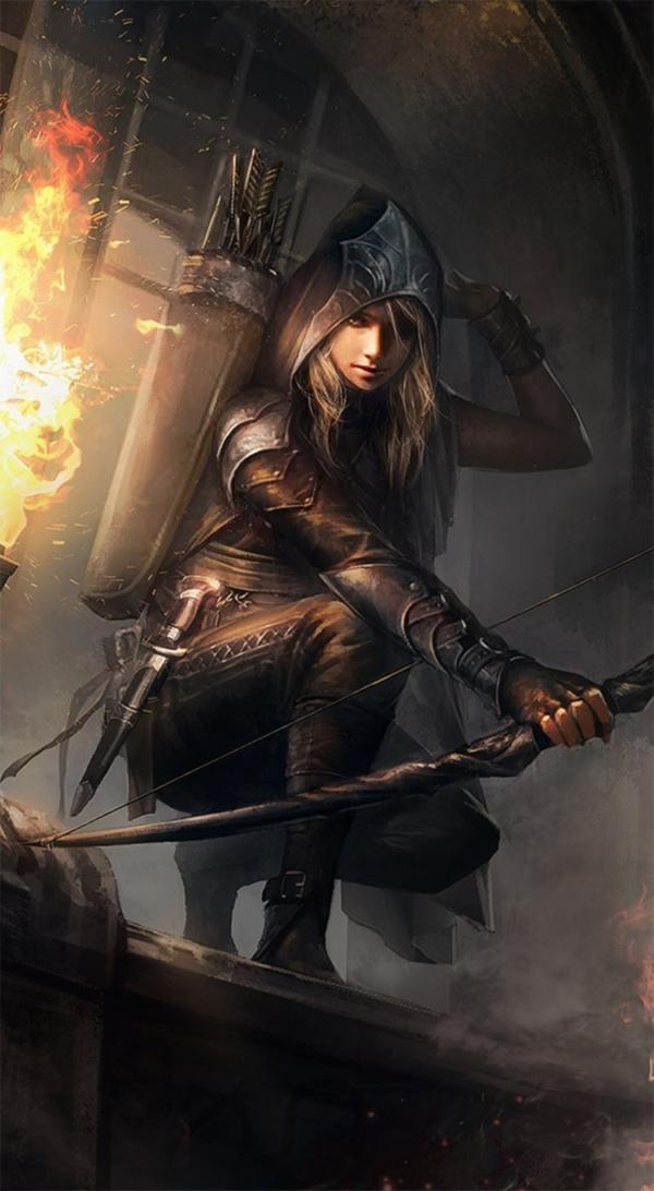 Archer Fantasy on Pinterest