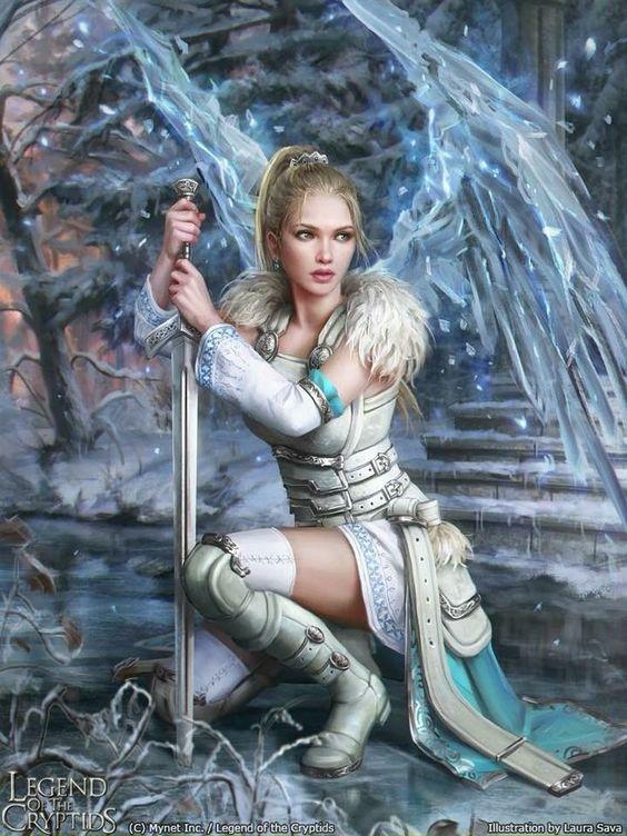 Armor Sword Magic Wings by Laura Sava