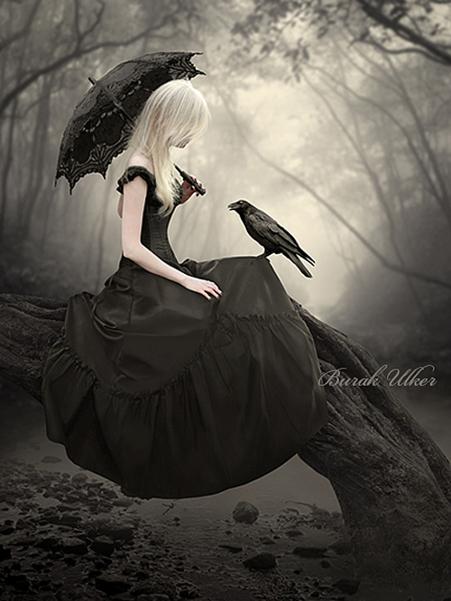 Gothic photo-manipulation by Burak Ulker on Pinterest