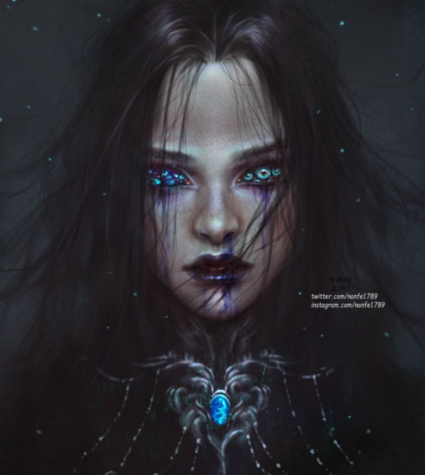 Lady of blessed visions by NanFe on DeviantArt