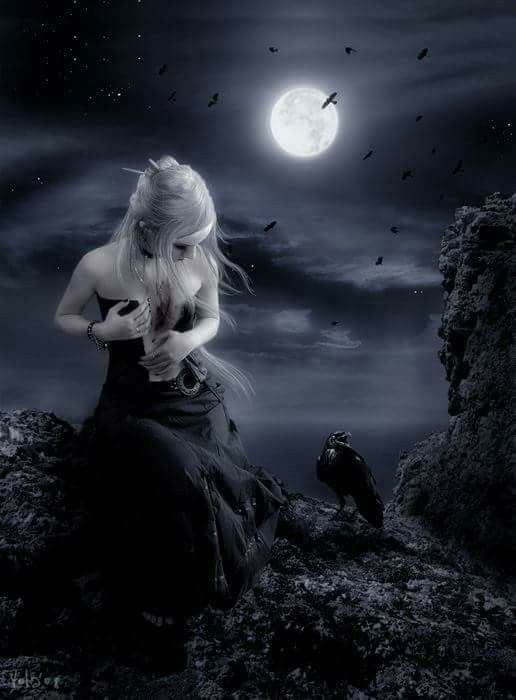 The Night with the Moon on Pinterest