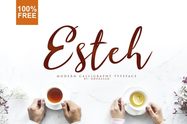 Esteh Font by Khurasan