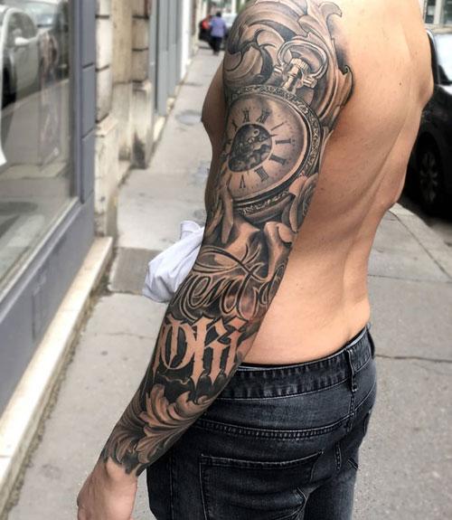 Full Sleeve Arm Tattoo For Men