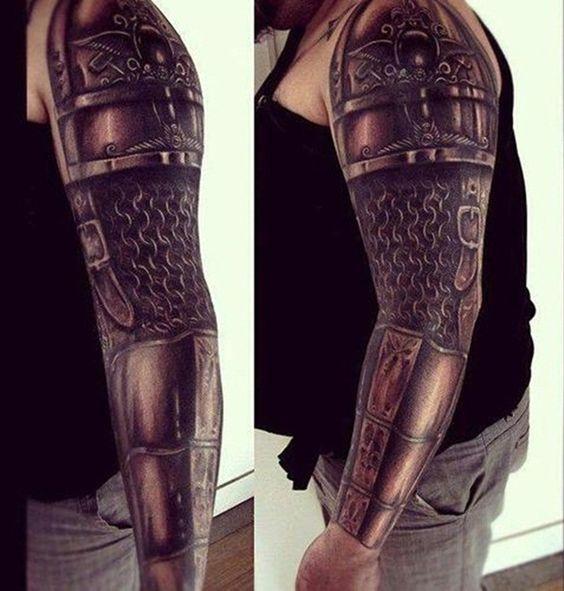 Ink Armor Arm Tattoo